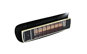 Weathershield 3 Black Accessorie - Studio Image by Heatscope Heaters
