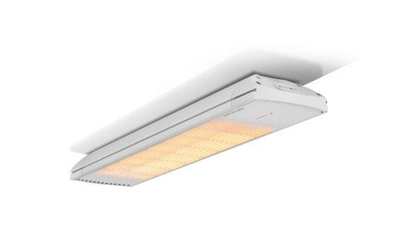 Spot 2800W Collection - White / White - Flame On by Heatscope Heaters