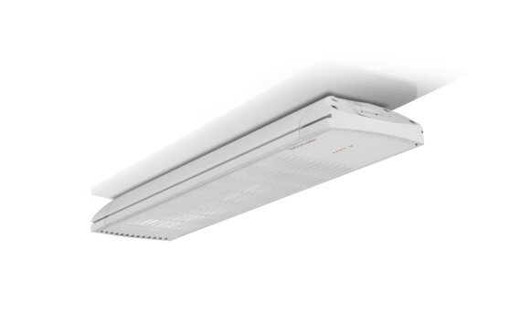 Spot 2800W Collection - White / White - Flame Off by Heatscope Heaters