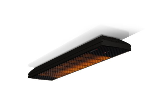 Spot 2800W Collection - Black / Black - Flame On by Heatscope