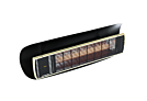 Shield 3 Black - Optional Accessory by Heatscope